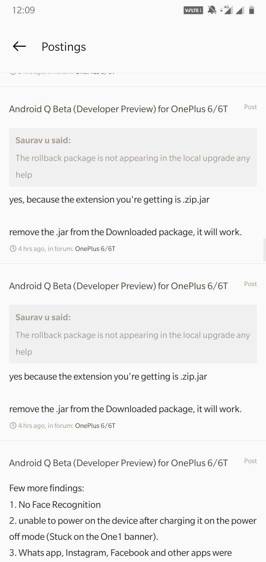 Android Q Beta (Developer Preview) for OnePlus 6/6T | Page 49