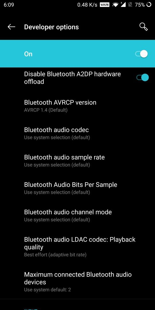 How To Enable Bluetooth Audio Code Qualcomm Aptx Hd Mode Oneplus Community
