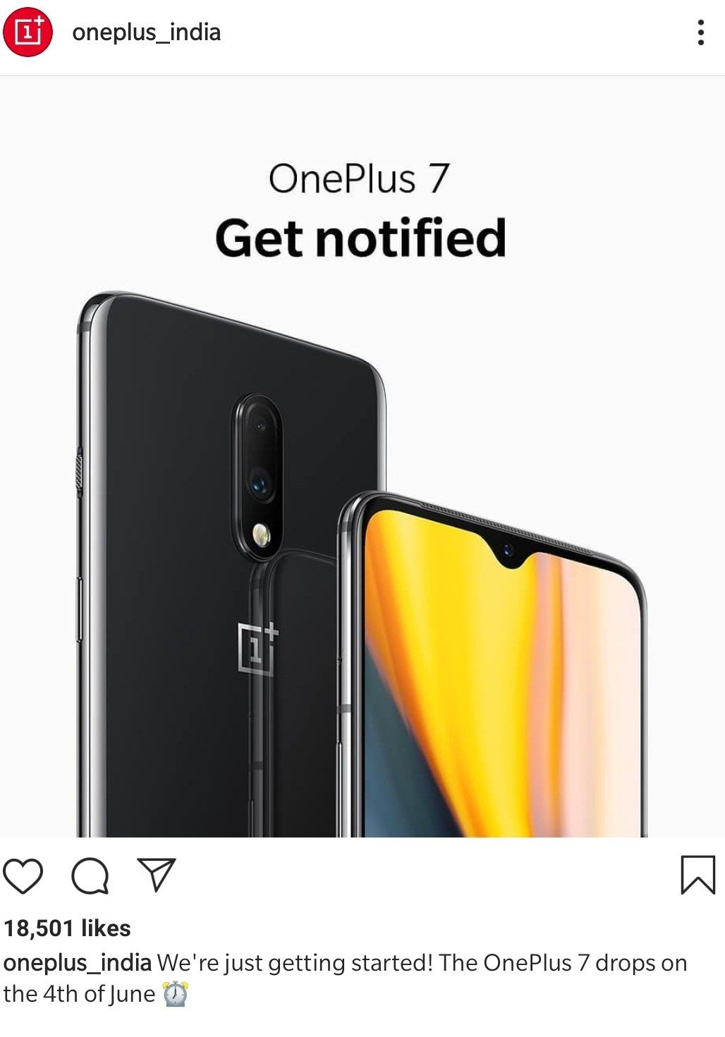 Any updates on the OnePlus 7 India launch date - OnePlus
