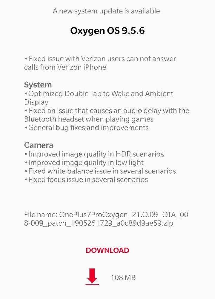 OP7 Verizon - Call disconnects on answer - OnePlus Community