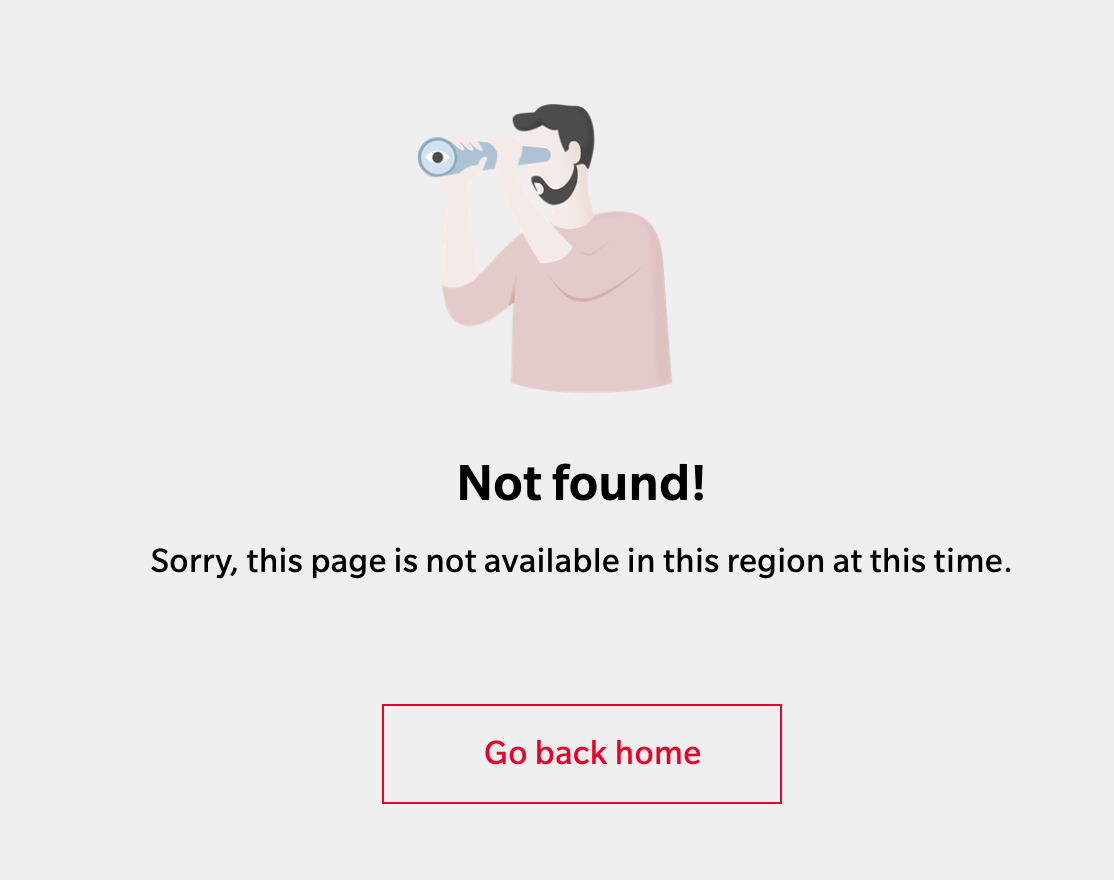 OnePlus website for Thailand redirects to Not Found page for