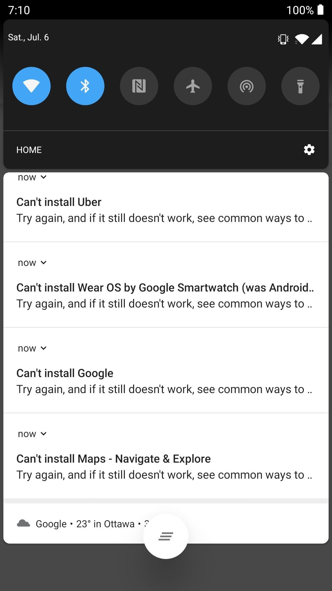 Google Play Store crashing after Android Pie Update in 3T