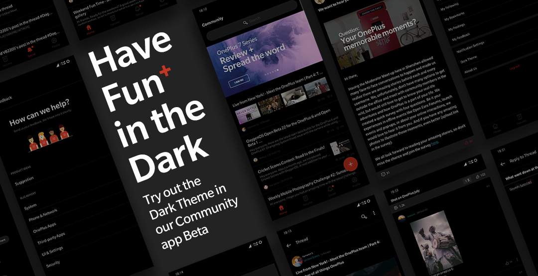 Have fun in the Dark  Join the Community app 2 6 0 - OnePlus