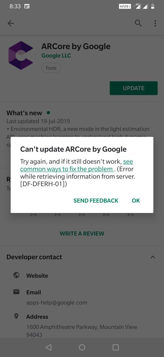 ARCORE by Google - OnePlus Community