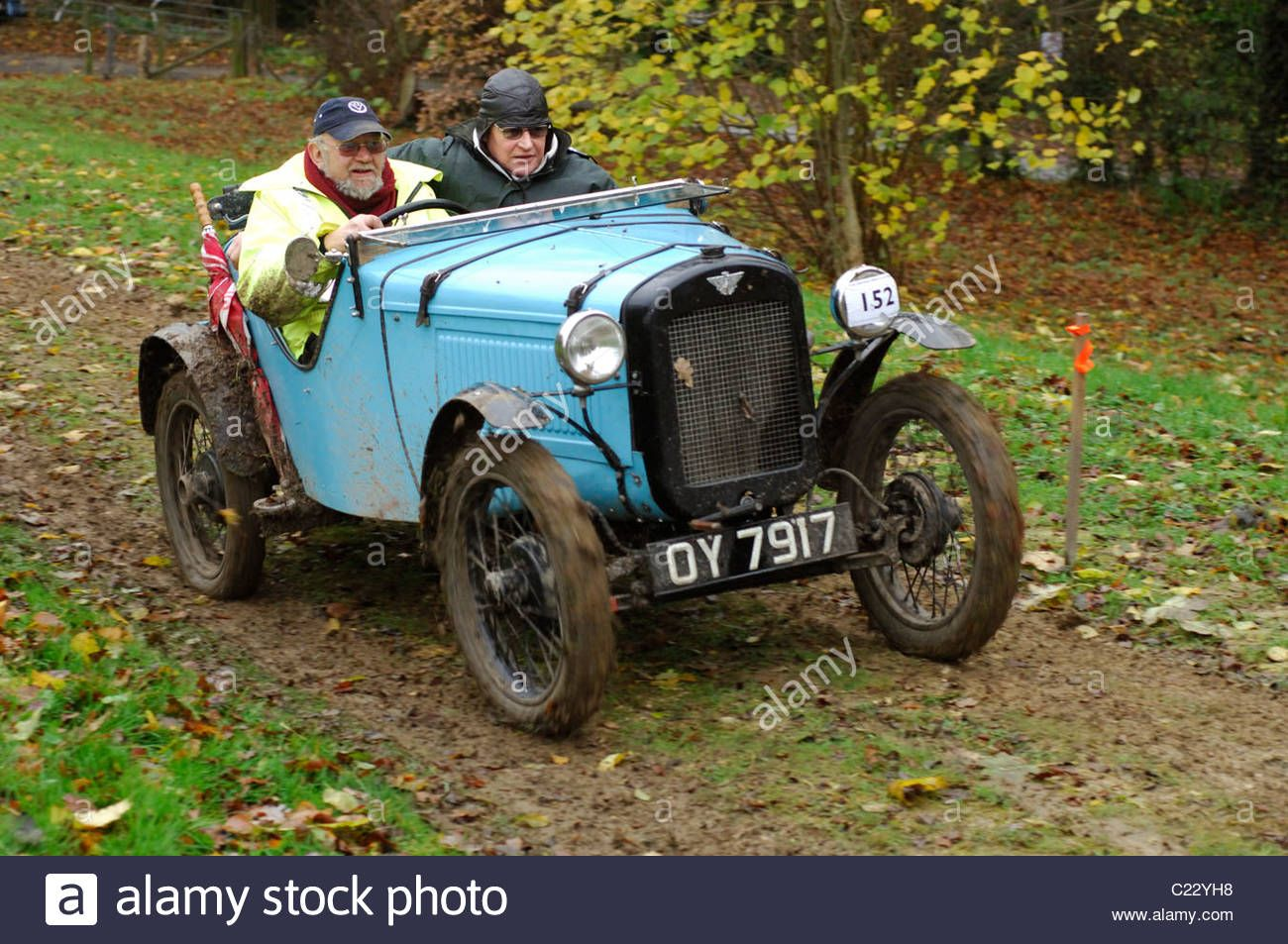 austin-7-ulster-1934-in-the-cotswold-trial-at-the-prescott-hill-climb-C22YH8.jpg