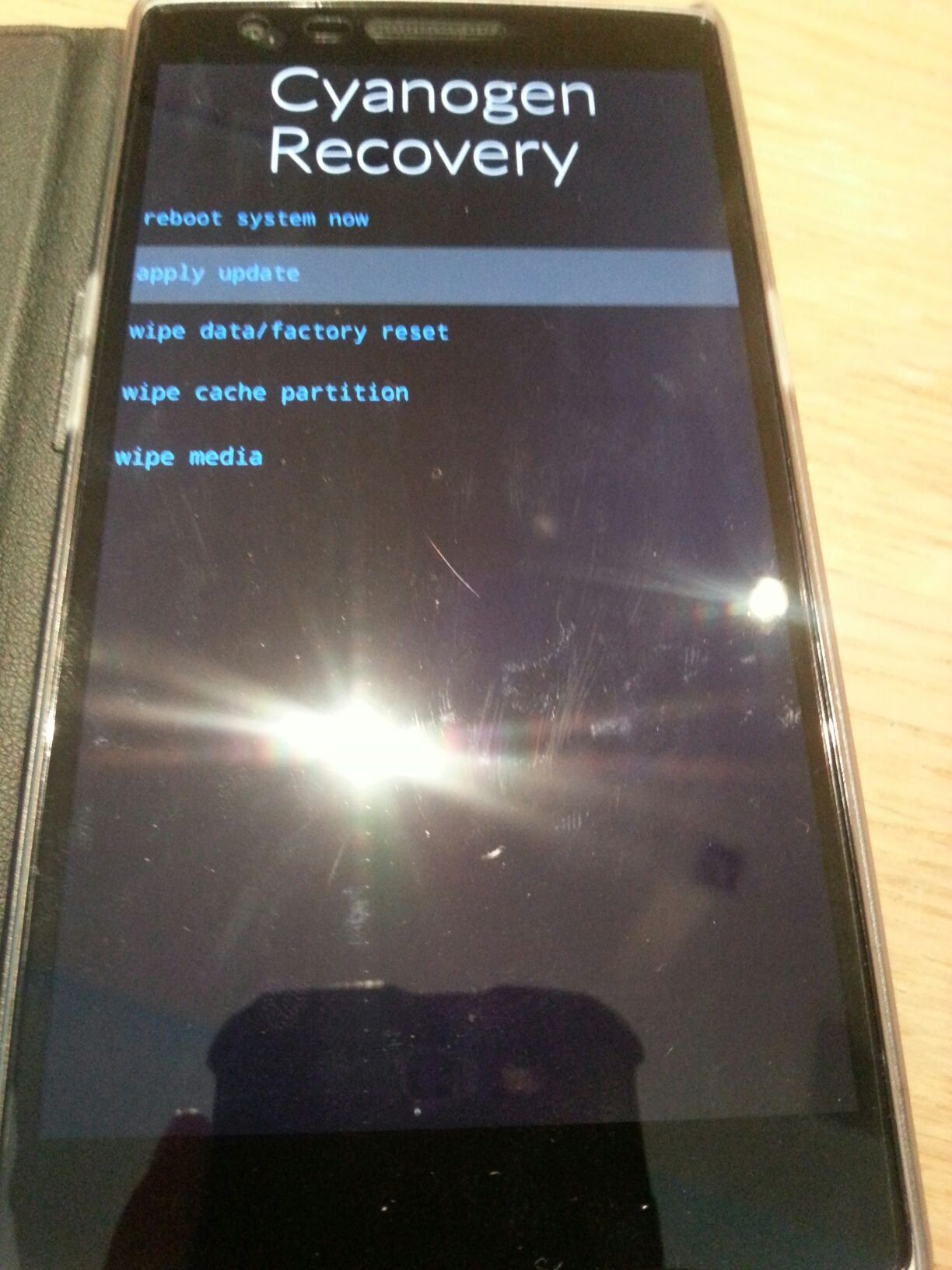 Accidentally into recovery mode - OnePlus Community