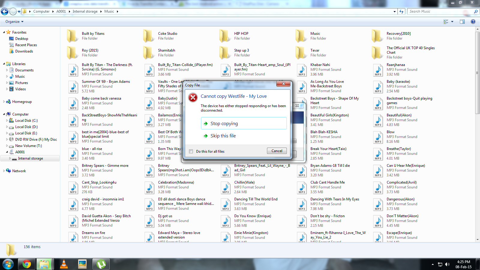 Device stops responding during File Transfer | Page 2