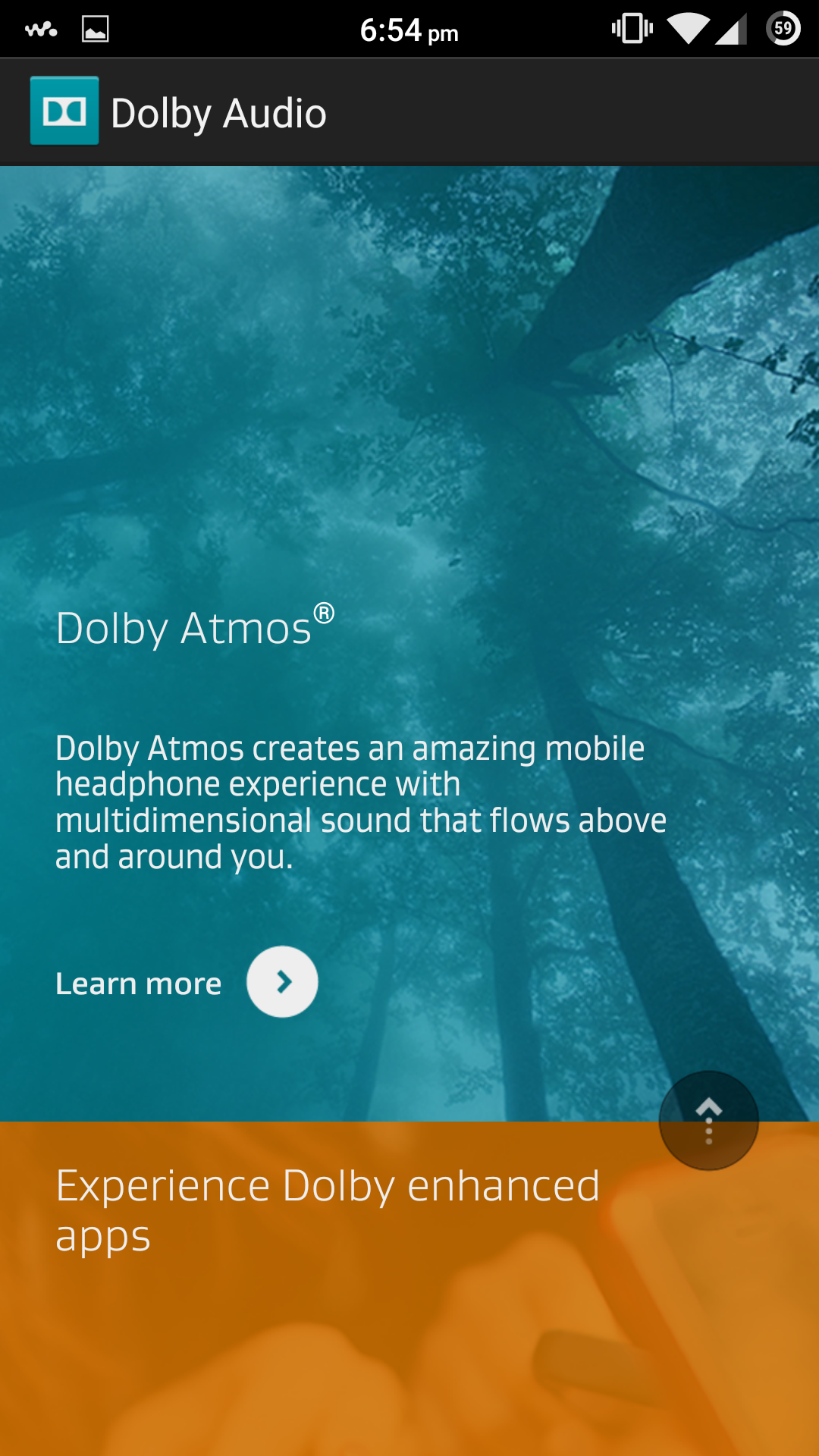 Experience The Most Advanced Dolby Technology