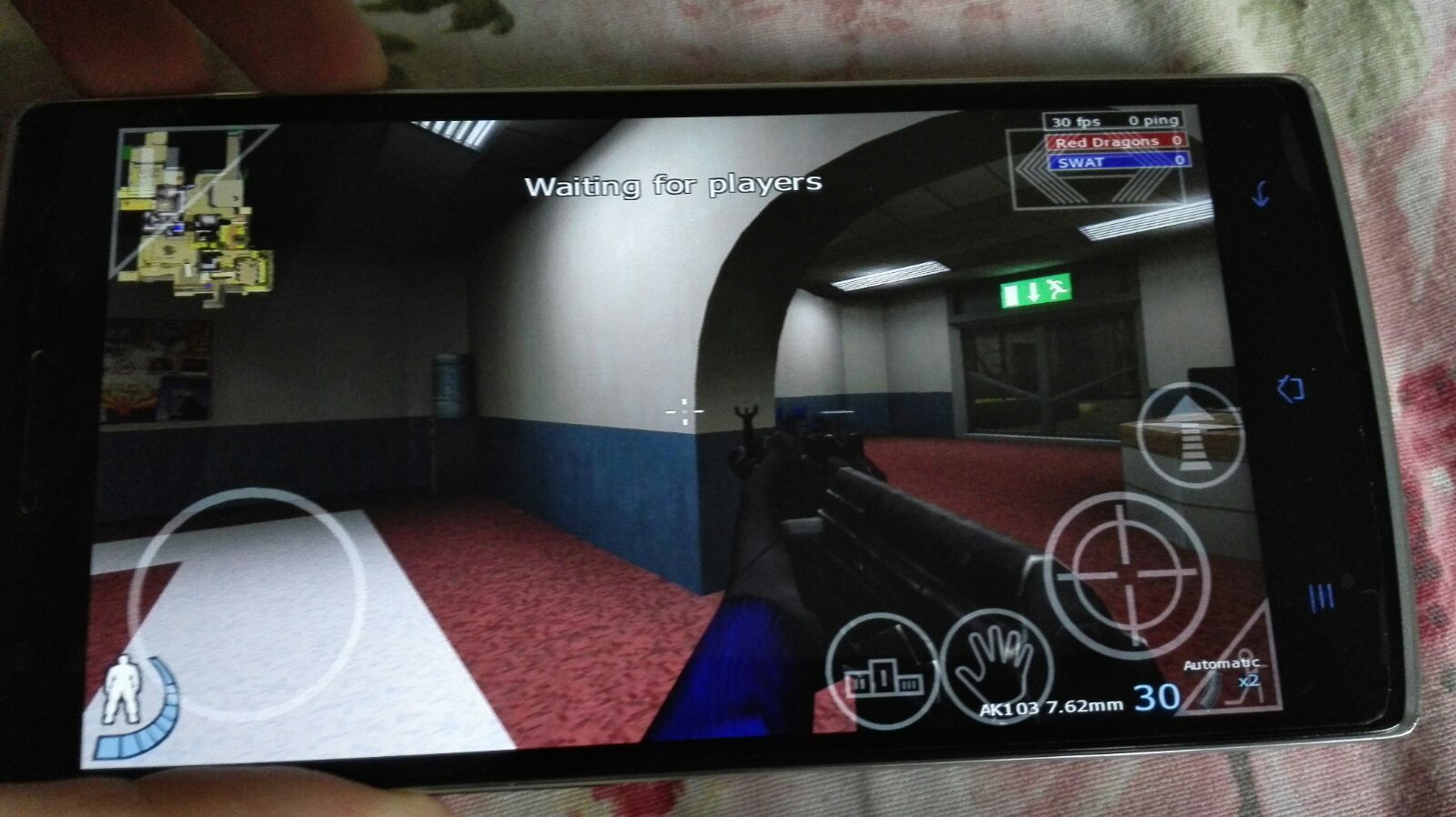 Play Urban Terror, Open Arena or Quake 3 in Android