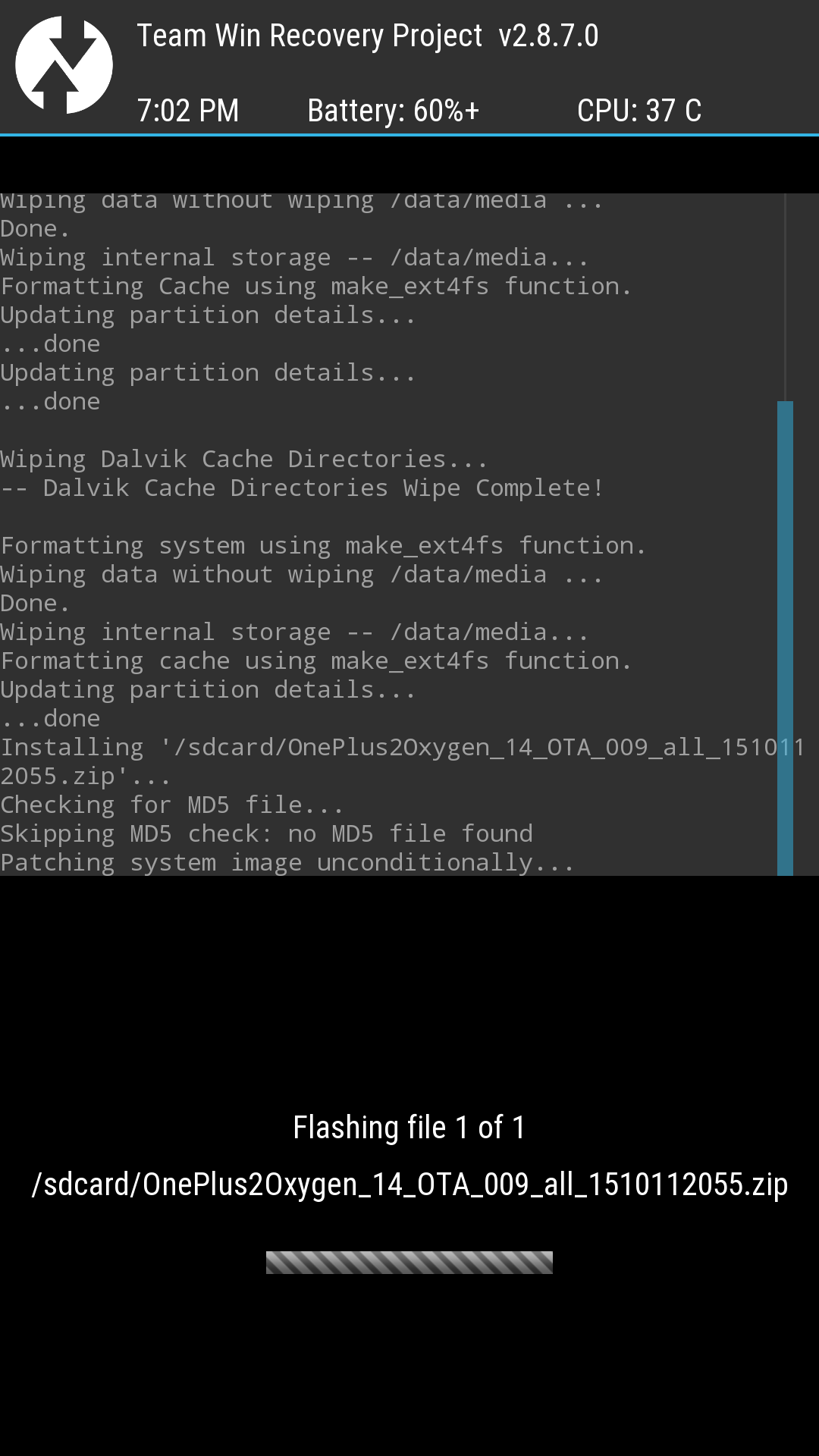 No md5 file found problem - OnePlus Community