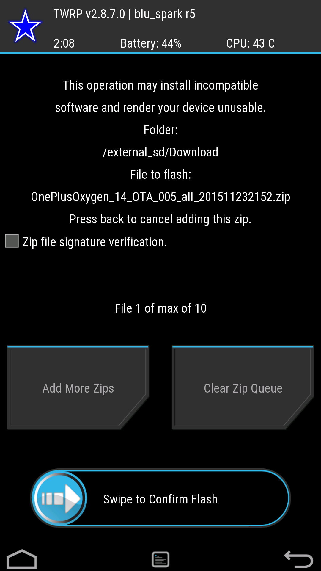 How To] Install OxygenOS 2 2 0 Update (Root/Non Root Users