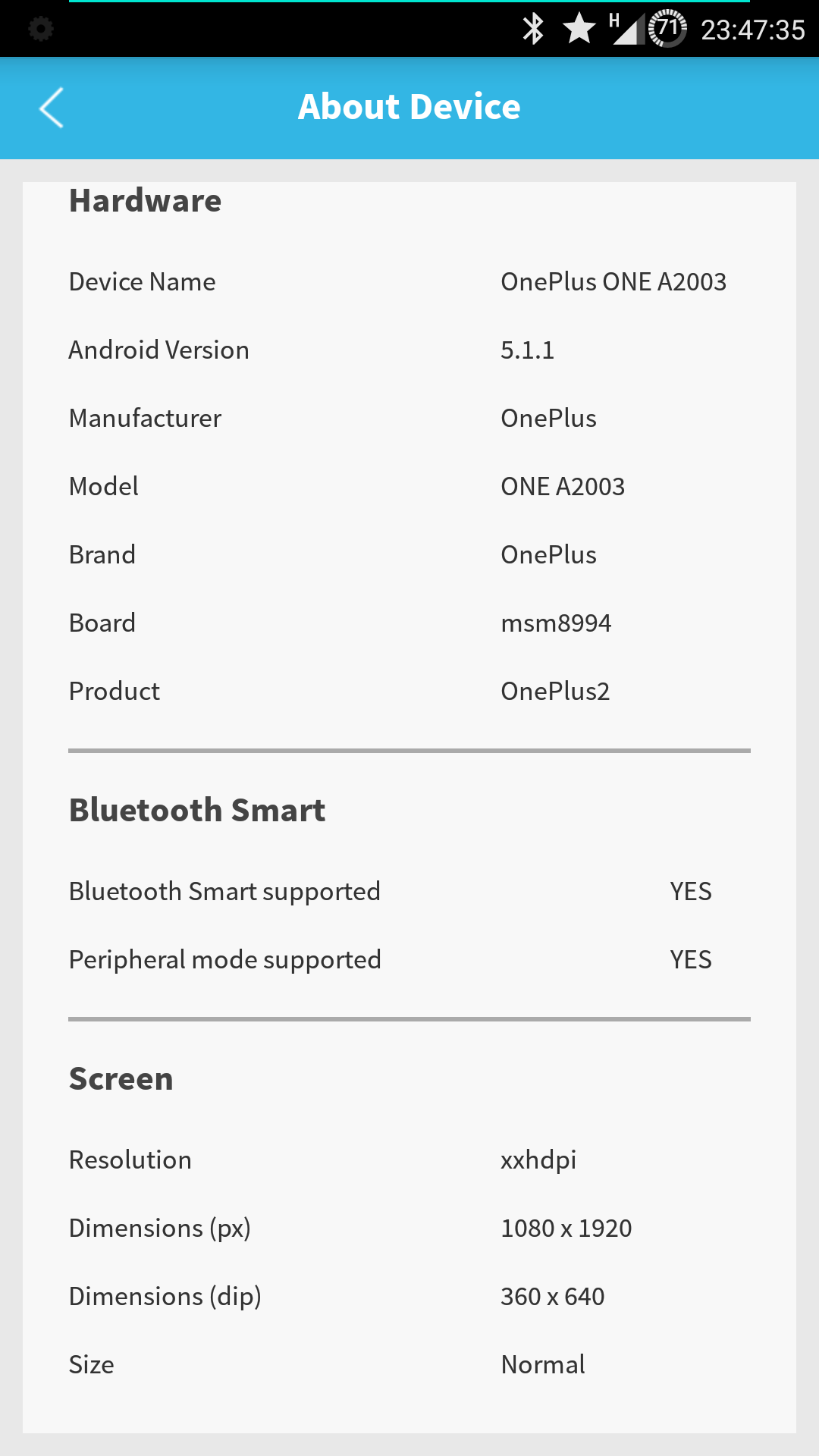 Does OPT support Bluetooth Low Energy? - OnePlus Community