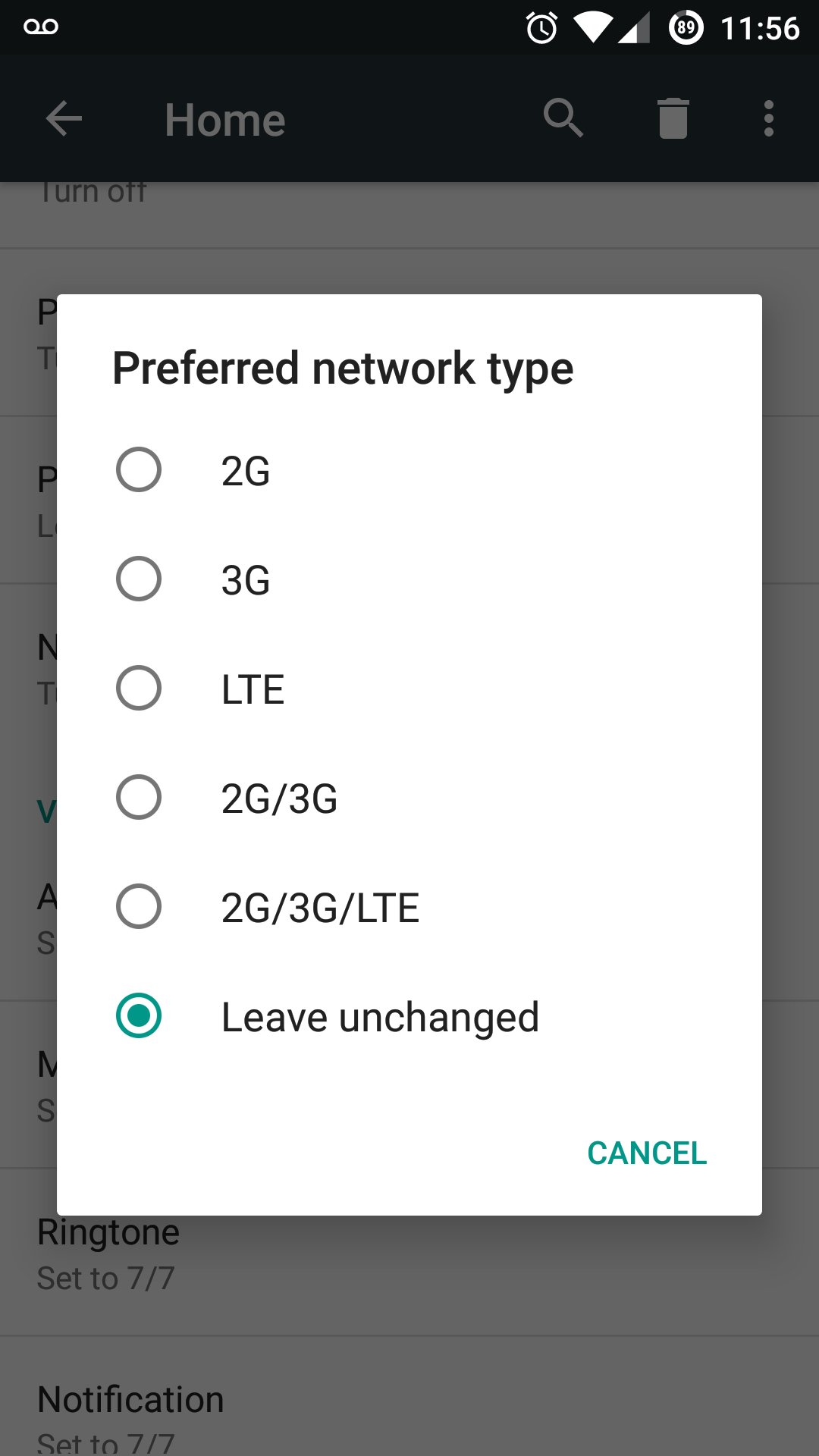 Cannot make call or receive call after upgrading to COS13