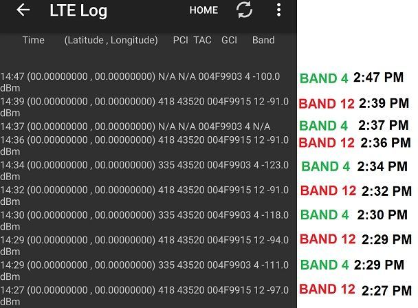 LTE Band Selection? T-Mobile Band 12 is terrible - need to use band