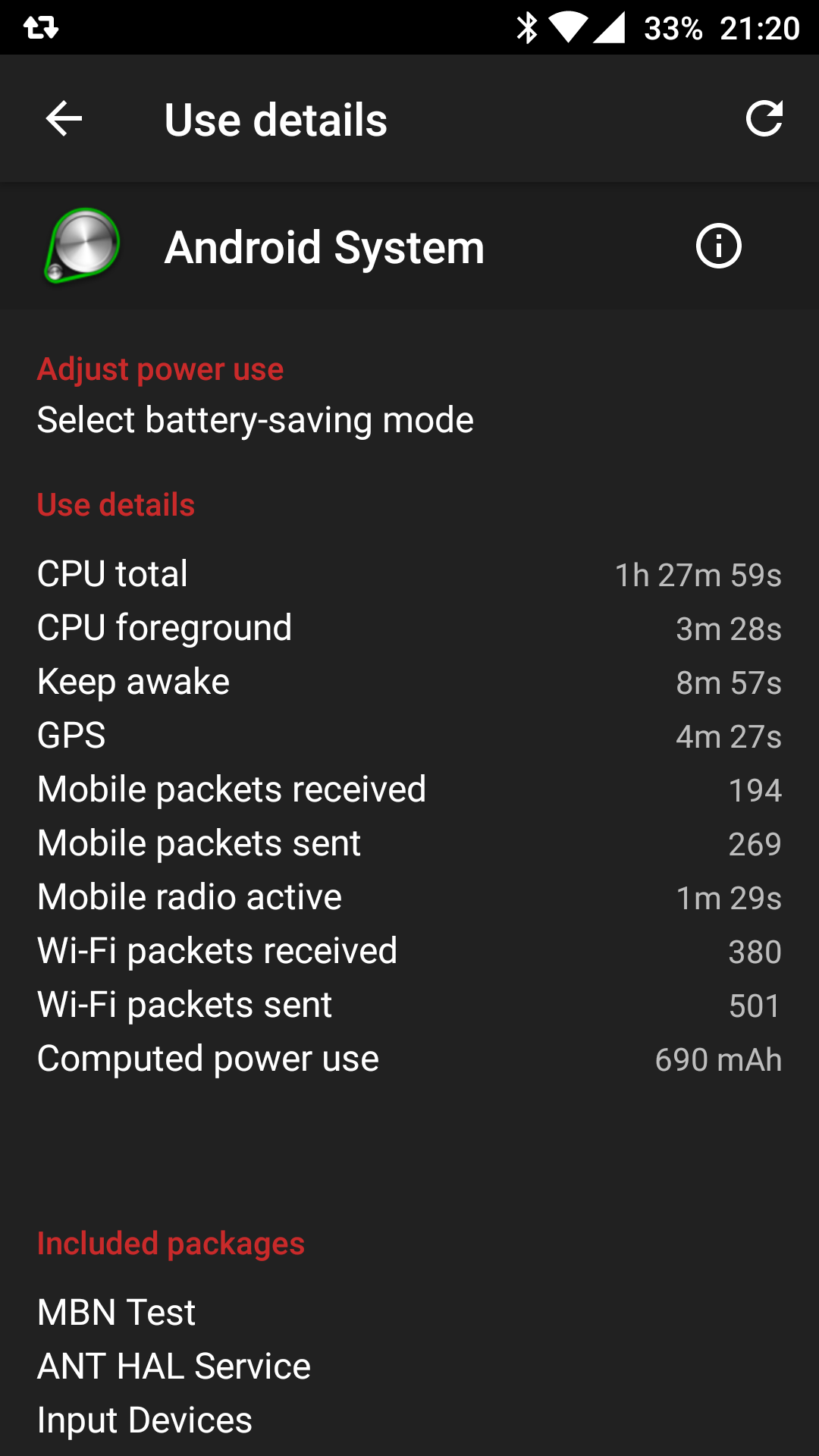 Android System battery drain (FIX) - OnePlus Community
