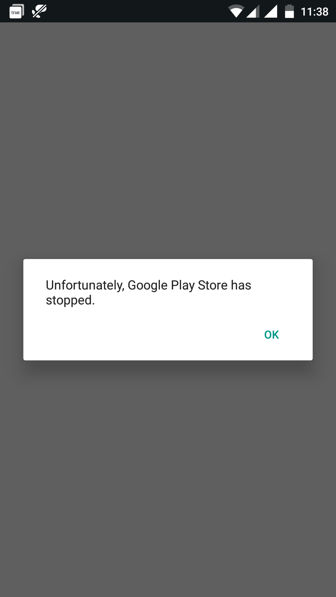 One plus X- Unfortunately, Google Play Services has stopped