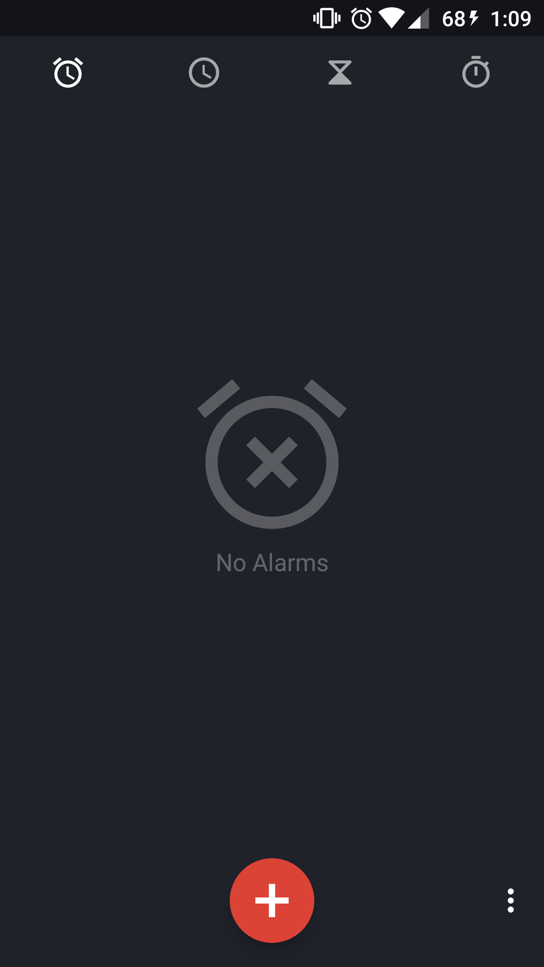 Annoying Alarm/Timer icon on the status bar and on lock