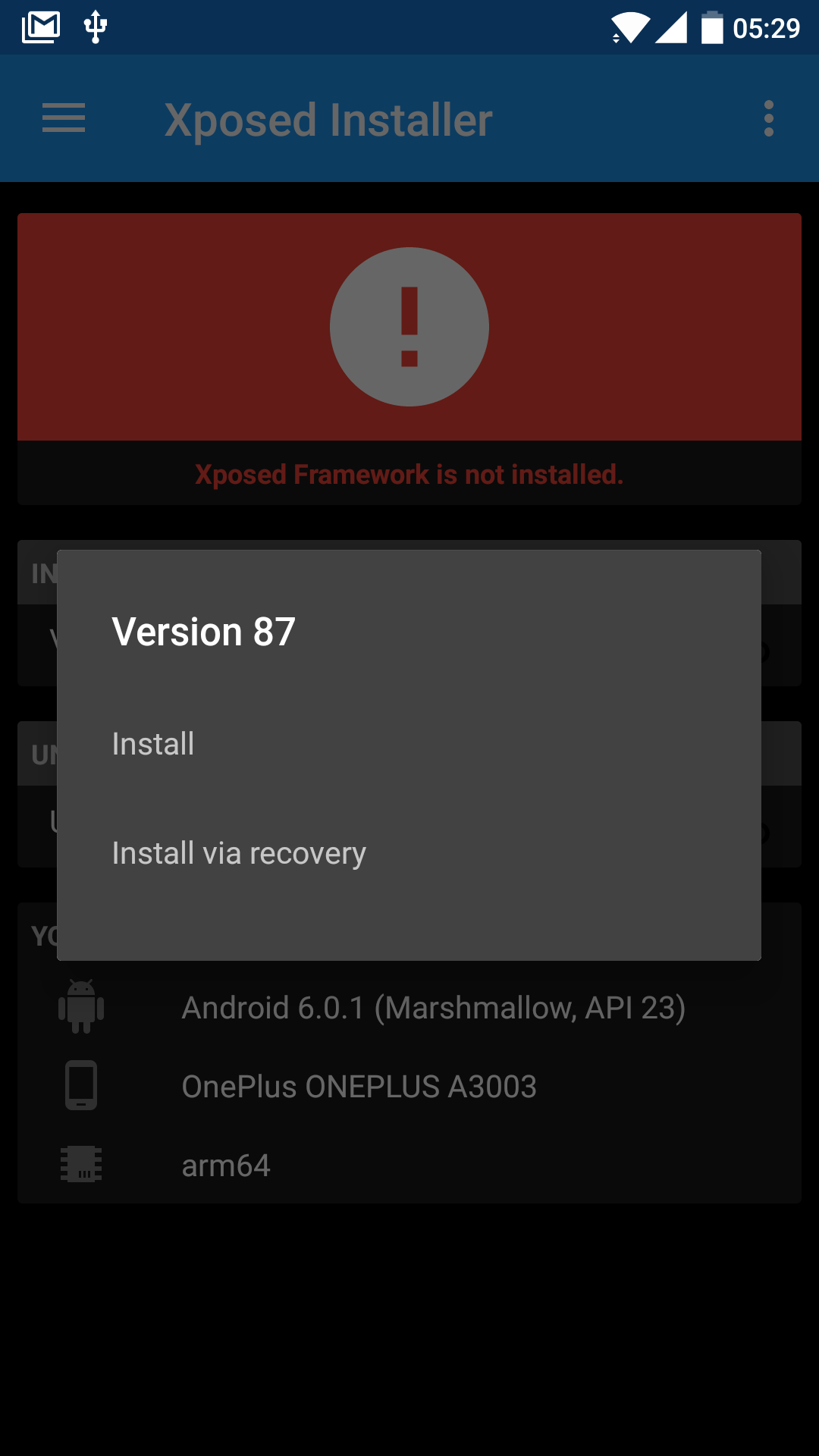 How To] Install Xposed Framework on OxygenOS 3 5 3 for