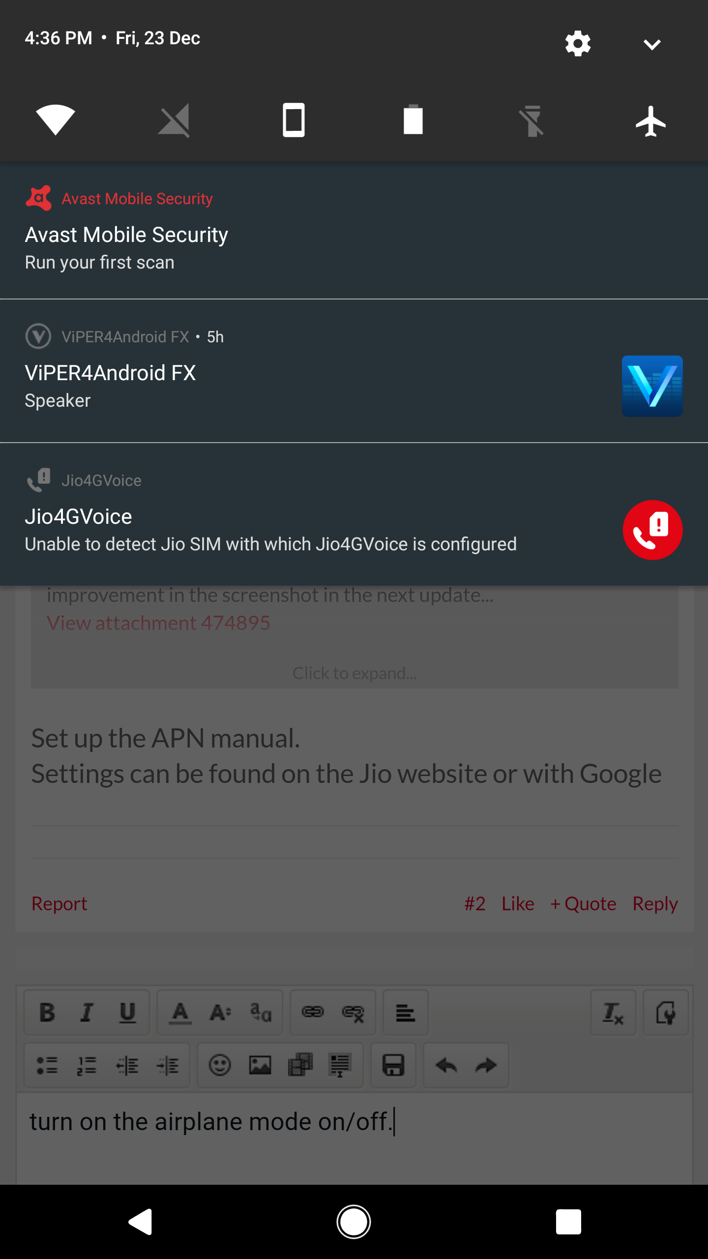 Unable to detect jio sim card    - OnePlus Community