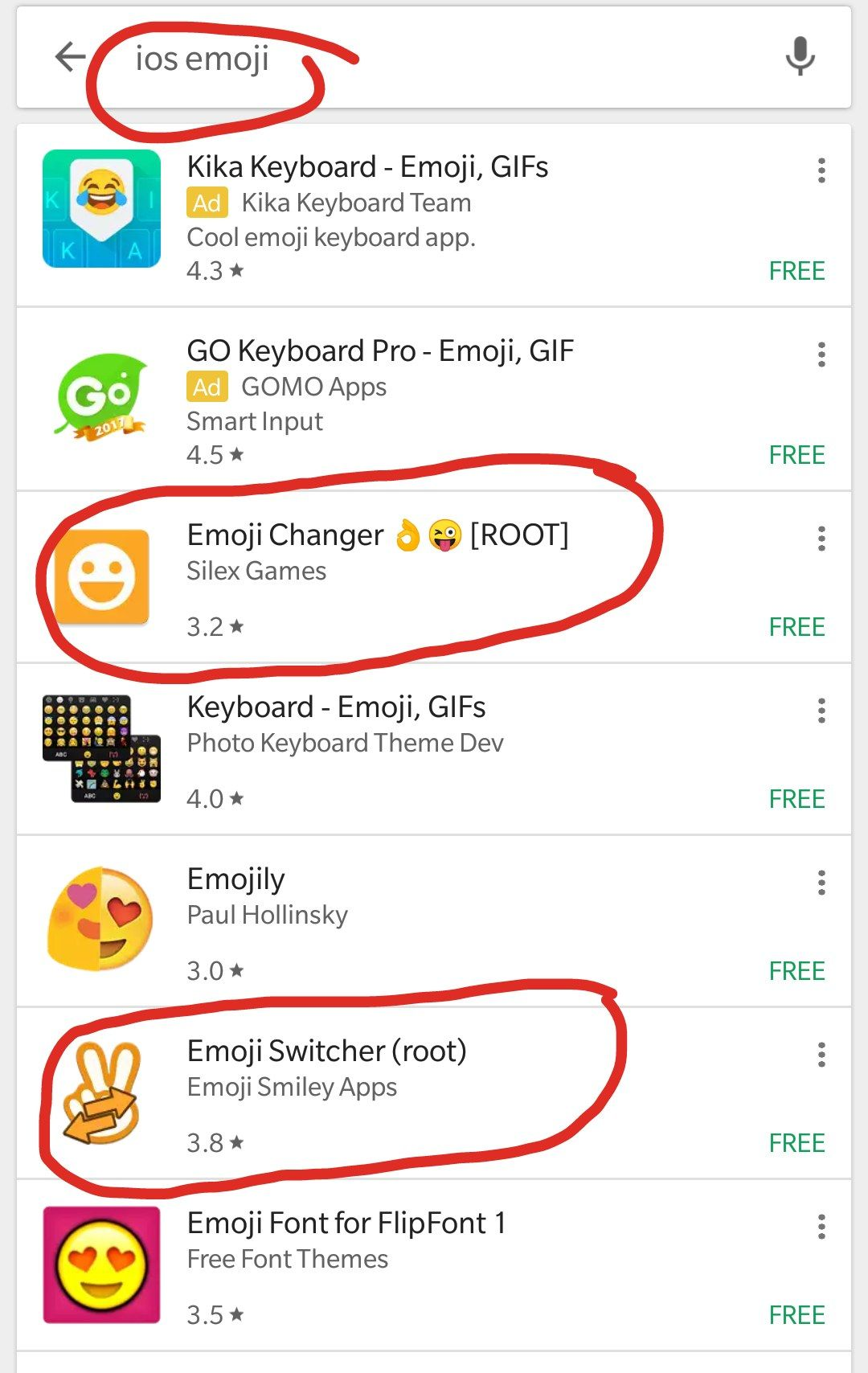 iOS emoji app for android - OnePlus Community