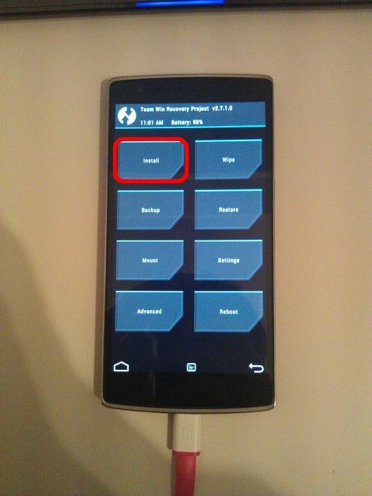 Guide - Ubuntu & OnePlus One: unlock the bootloader, install TWRP