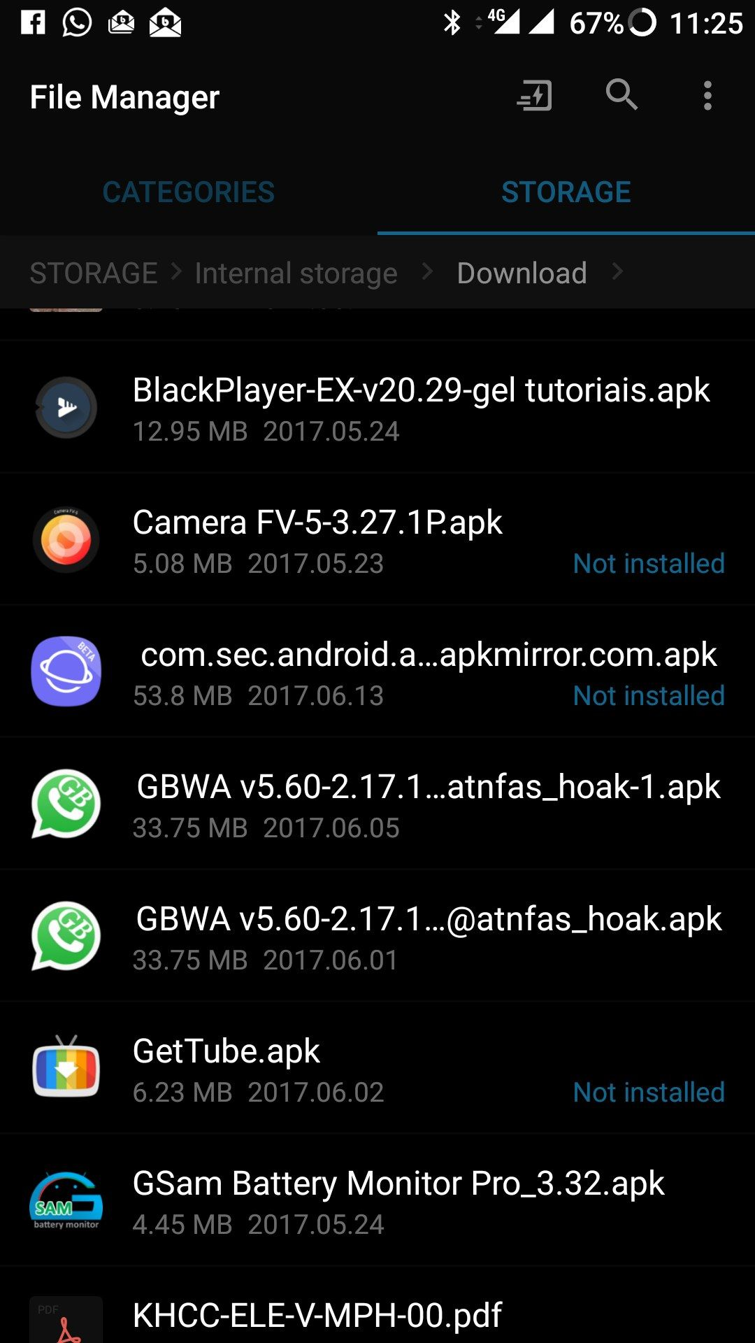 In built File Manager not able to install apk file - OnePlus