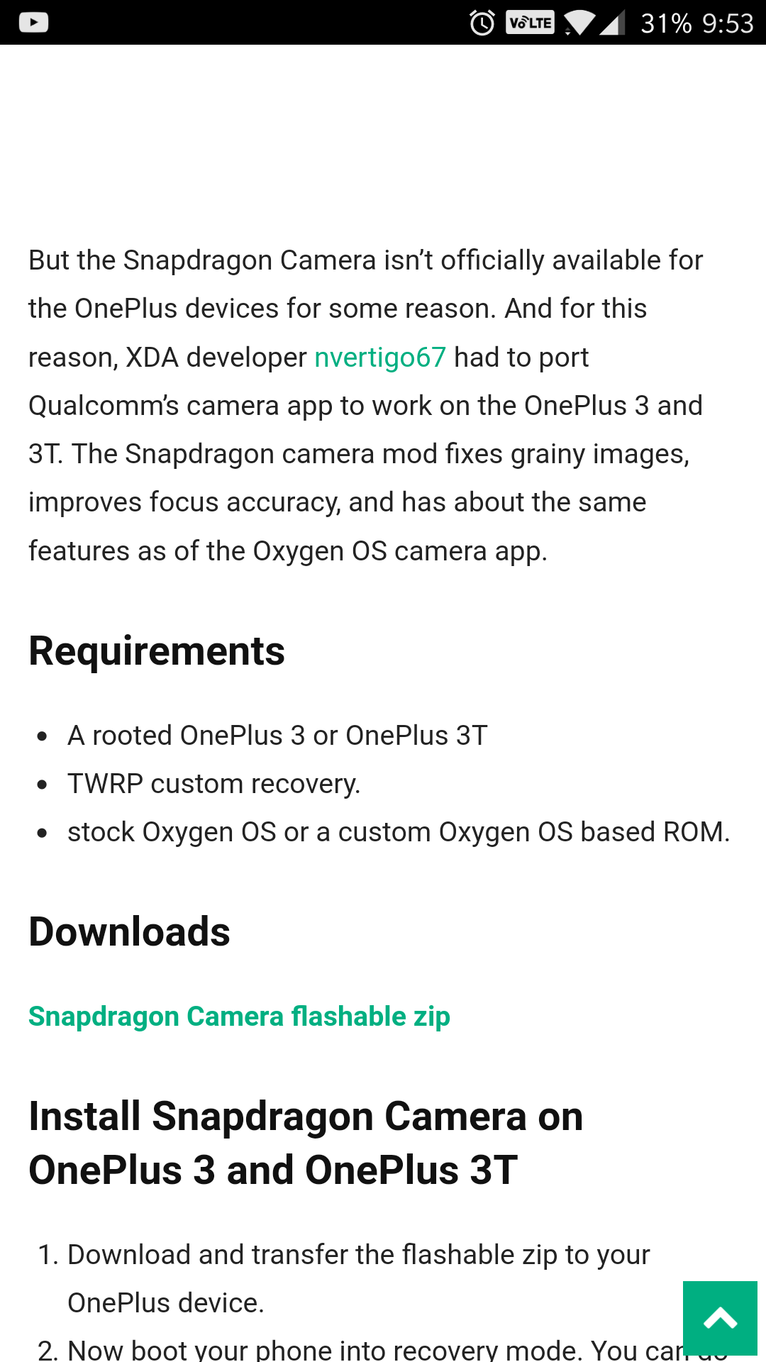 download snapdragon cam so cool - OnePlus Community
