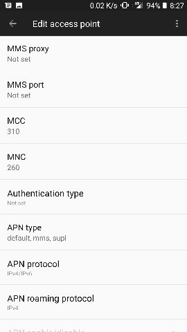 Problem with T-Mobile MMS - OnePlus Community