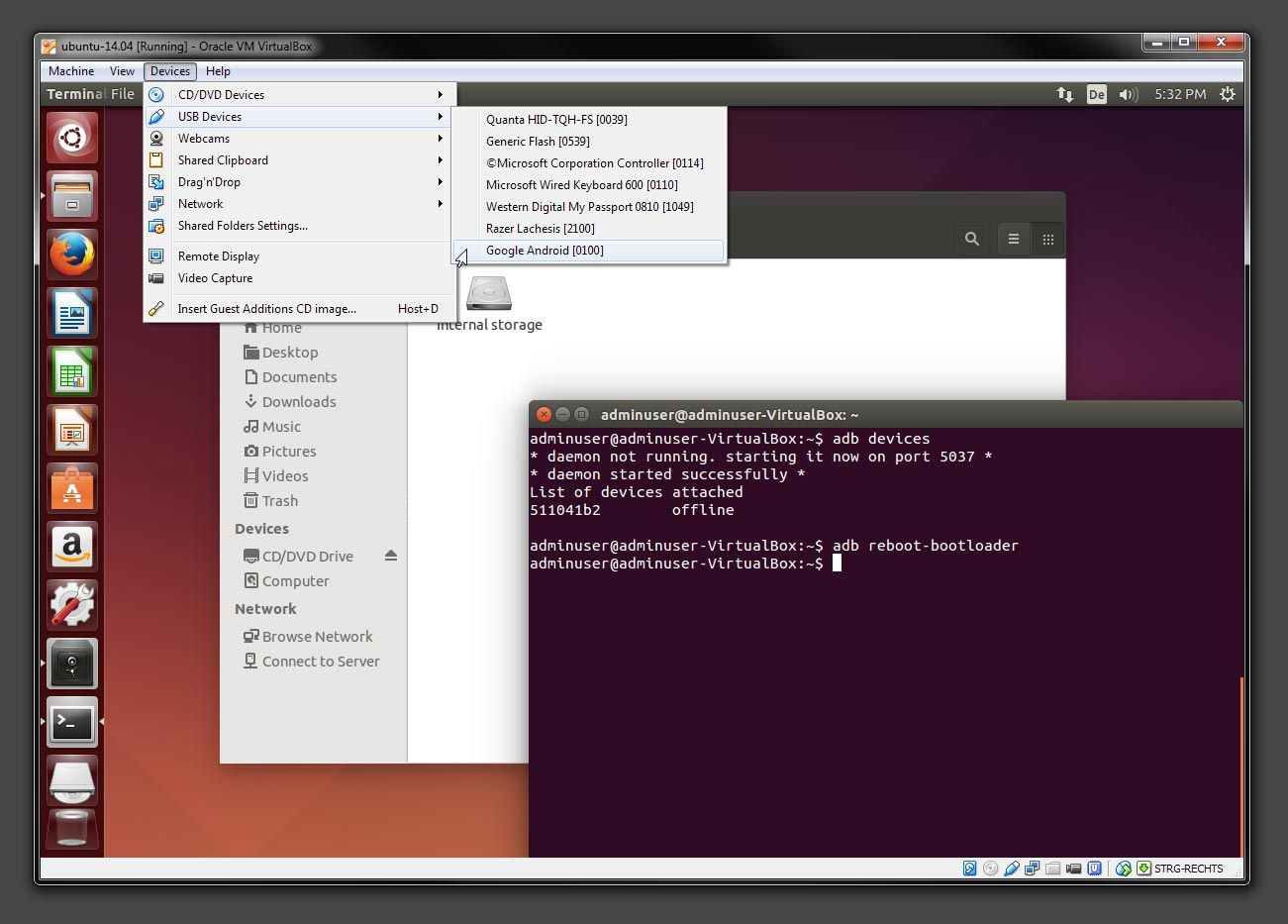 GUIDE] Set-up VirtualBox with Ubuntu on Windows to unlock the