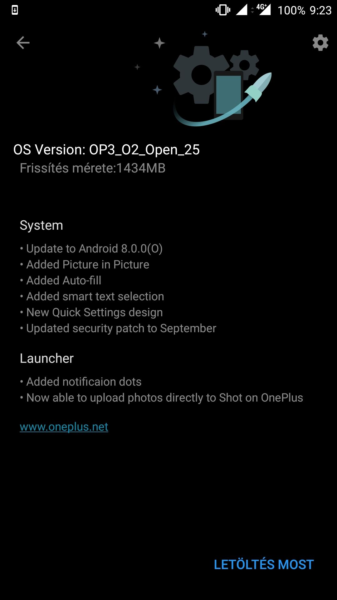 OxygenOS Open Beta 25 for the OnePlus 3 and 16 for the