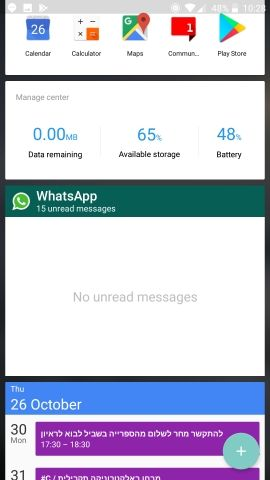 whatsapp widget not updating often enough - OnePlus Community