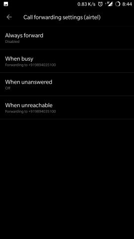 Call forwarding when busy and unreachable - OnePlus Community