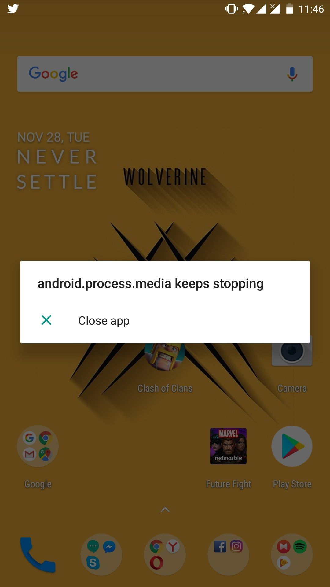 Android process media keep stopping - OnePlus Community