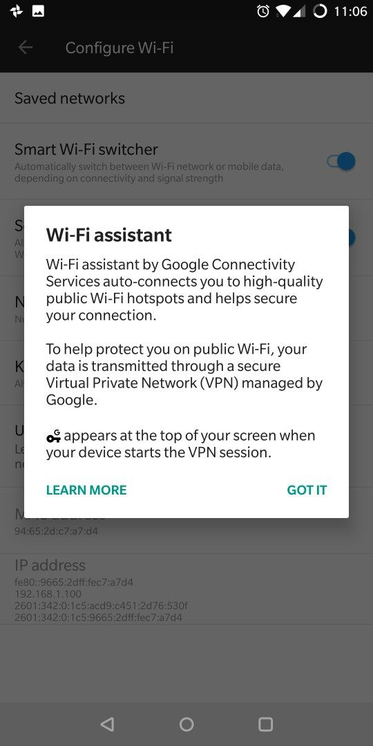 Google wifi assistant isn't working - OnePlus Community
