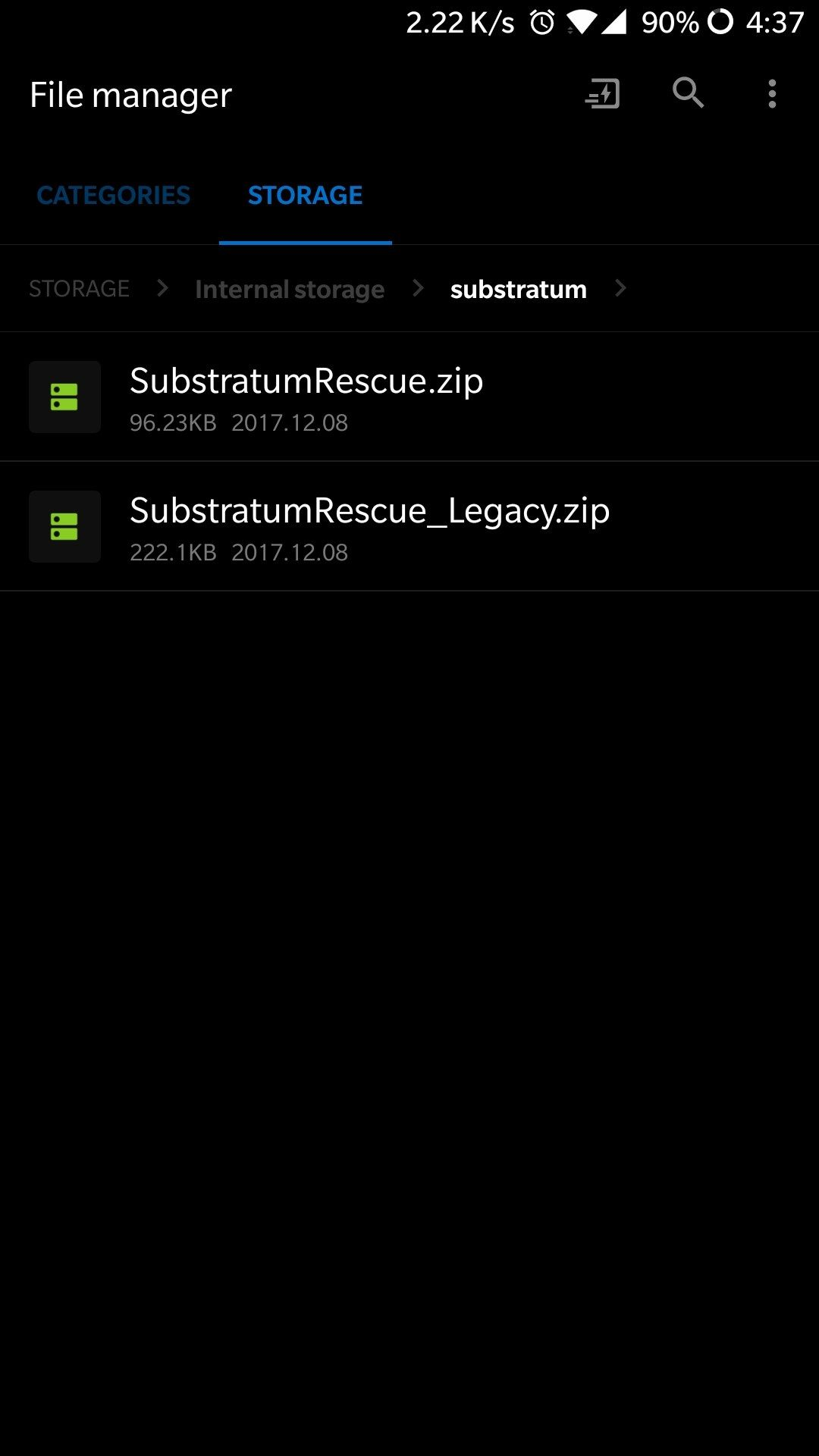 Substratum] List Of Substratum themes that Officially