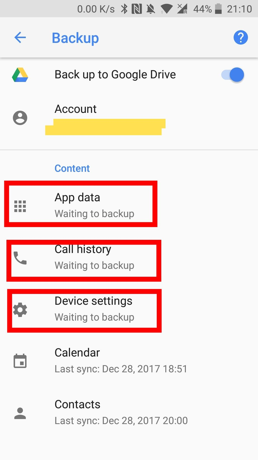 By Photo Congress || App Data Waiting To Backup