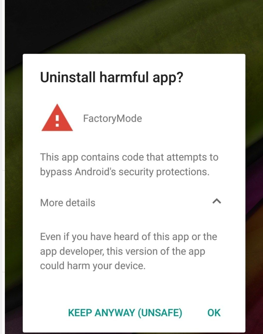 answered/closed]factory mode - OnePlus Community