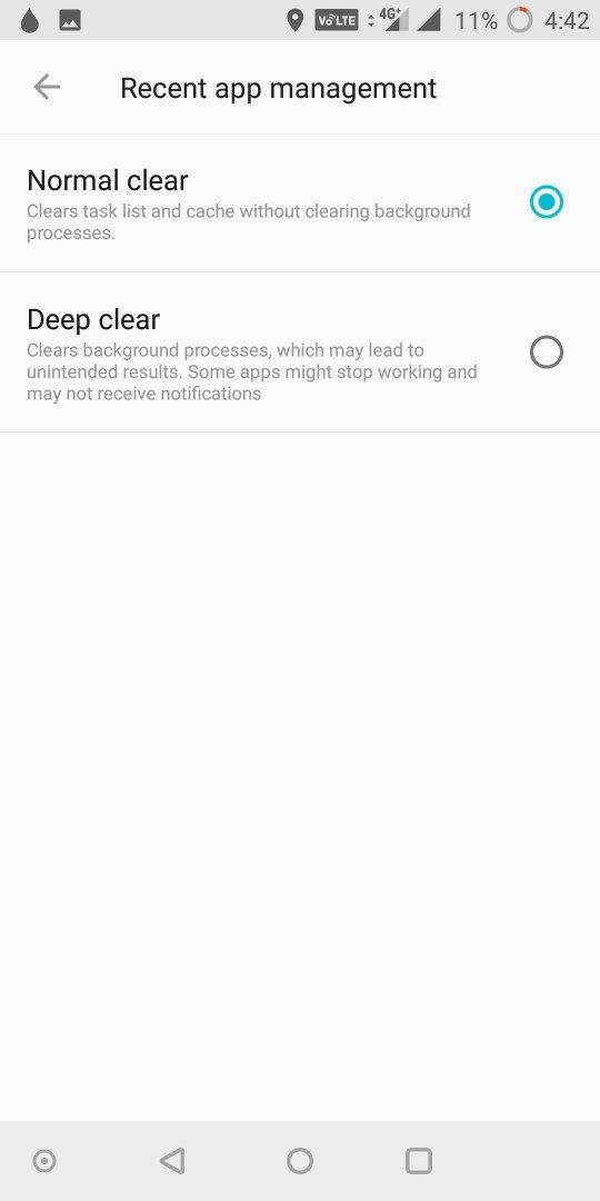 Apps running in background get closed/refreshed - OnePlus