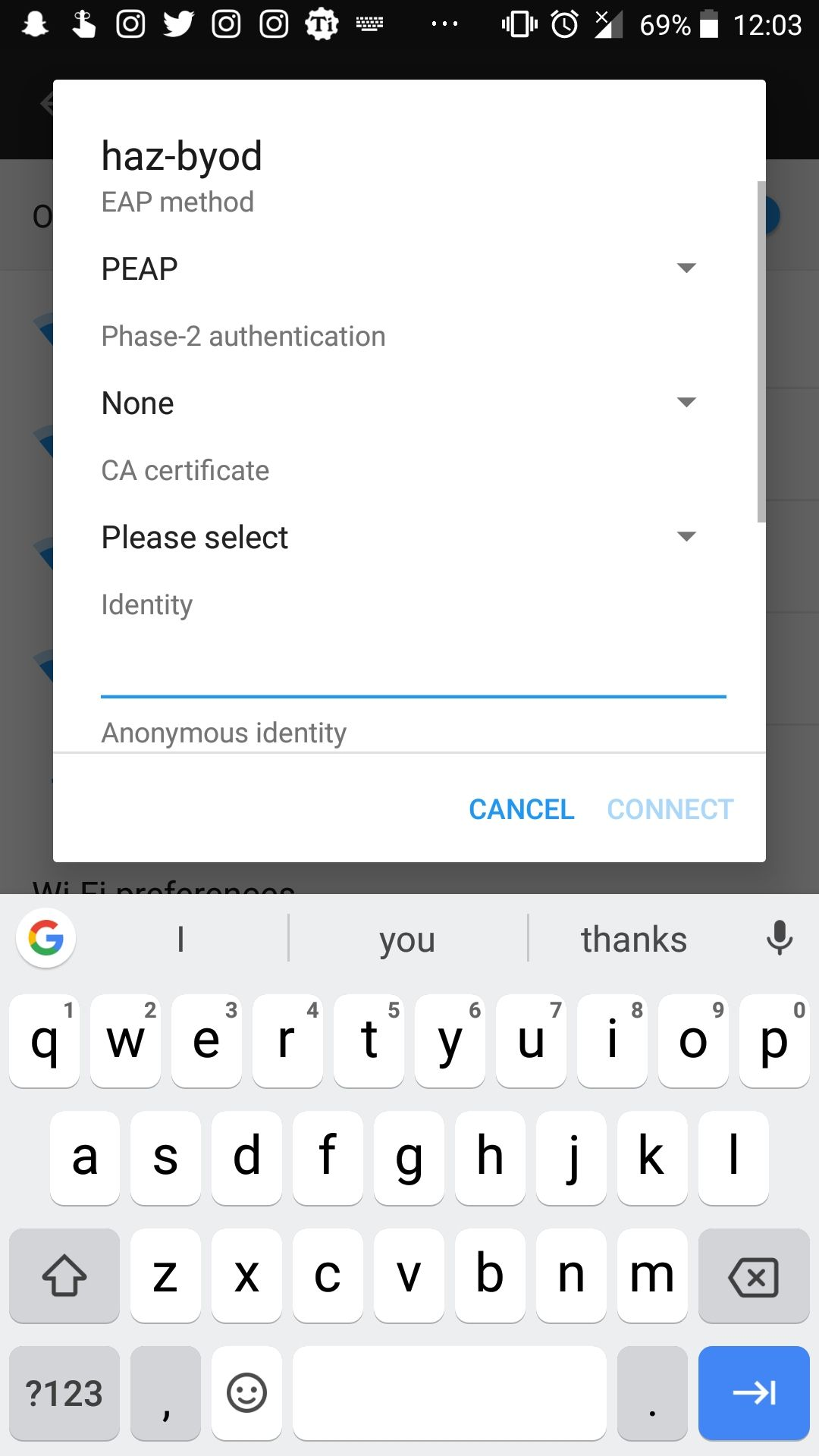 Android 8 0 Oreo Wifi connect option greyed out - OnePlus Community