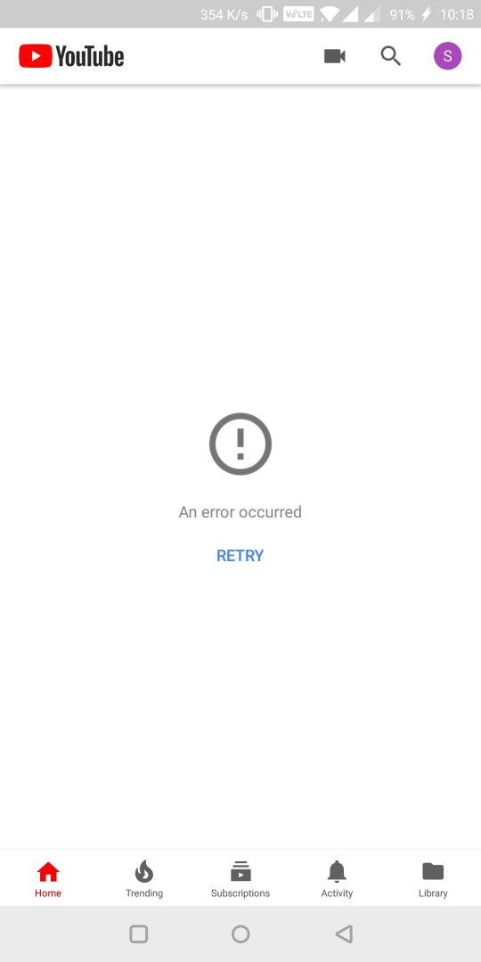YouTube problem - OnePlus Community