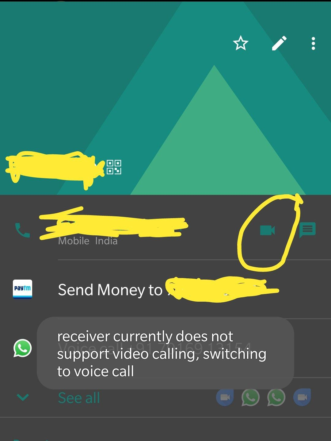 Bug ) Video calling feature not working at all ! - OnePlus