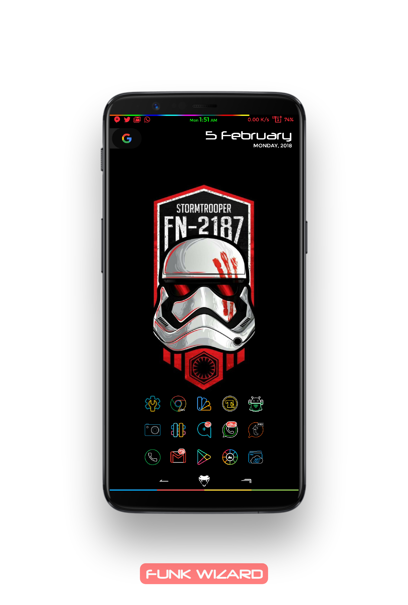 OnePlus 5T - Share Your Home Screen Thread !! - OnePlus