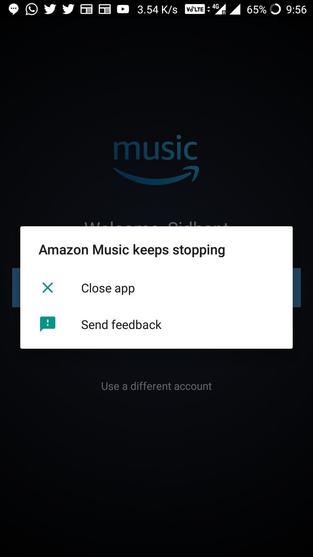Amazon Prime Music still not working  - OnePlus Community