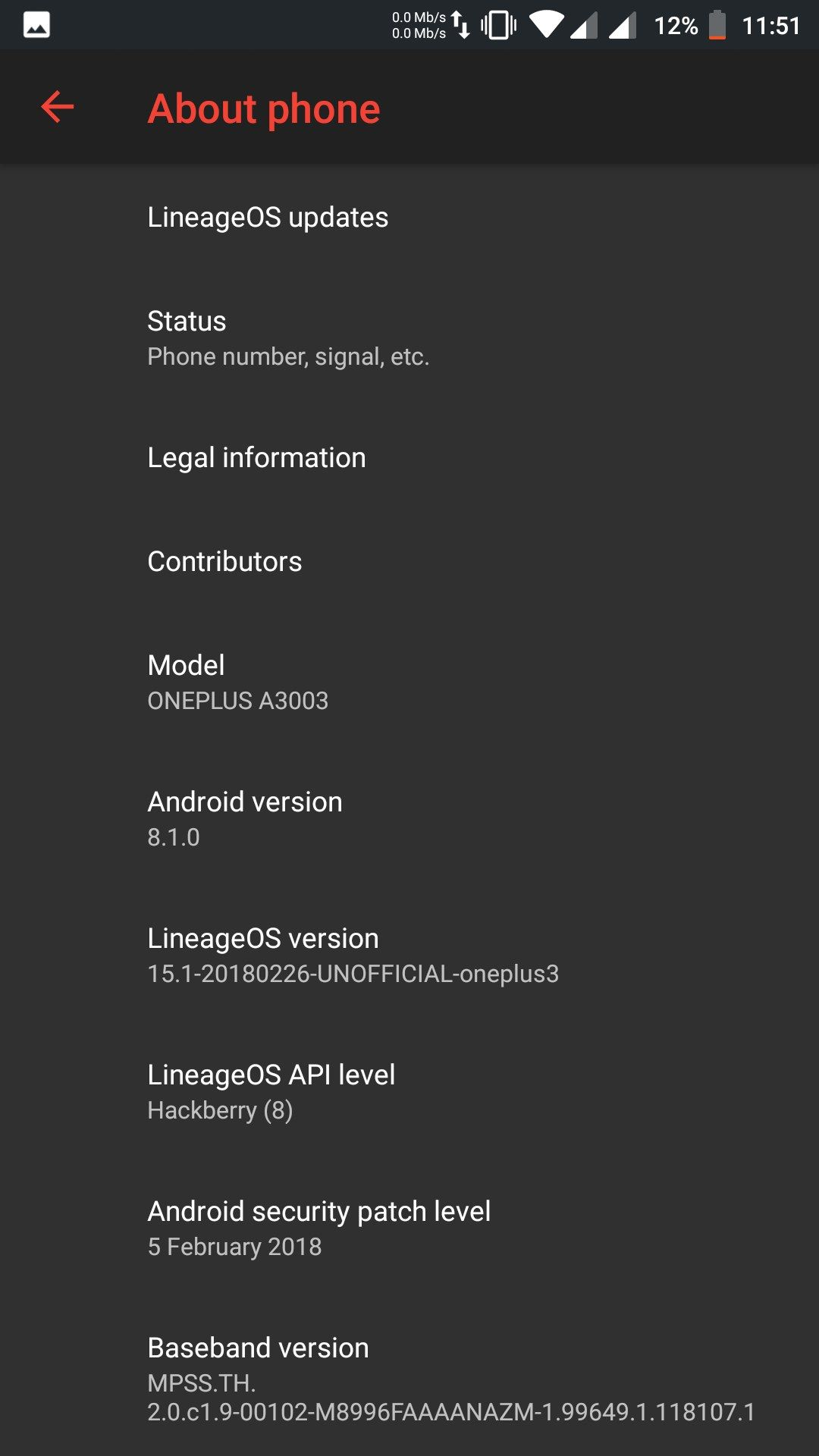 Lineage OS 15 1 Review - OnePlus Community