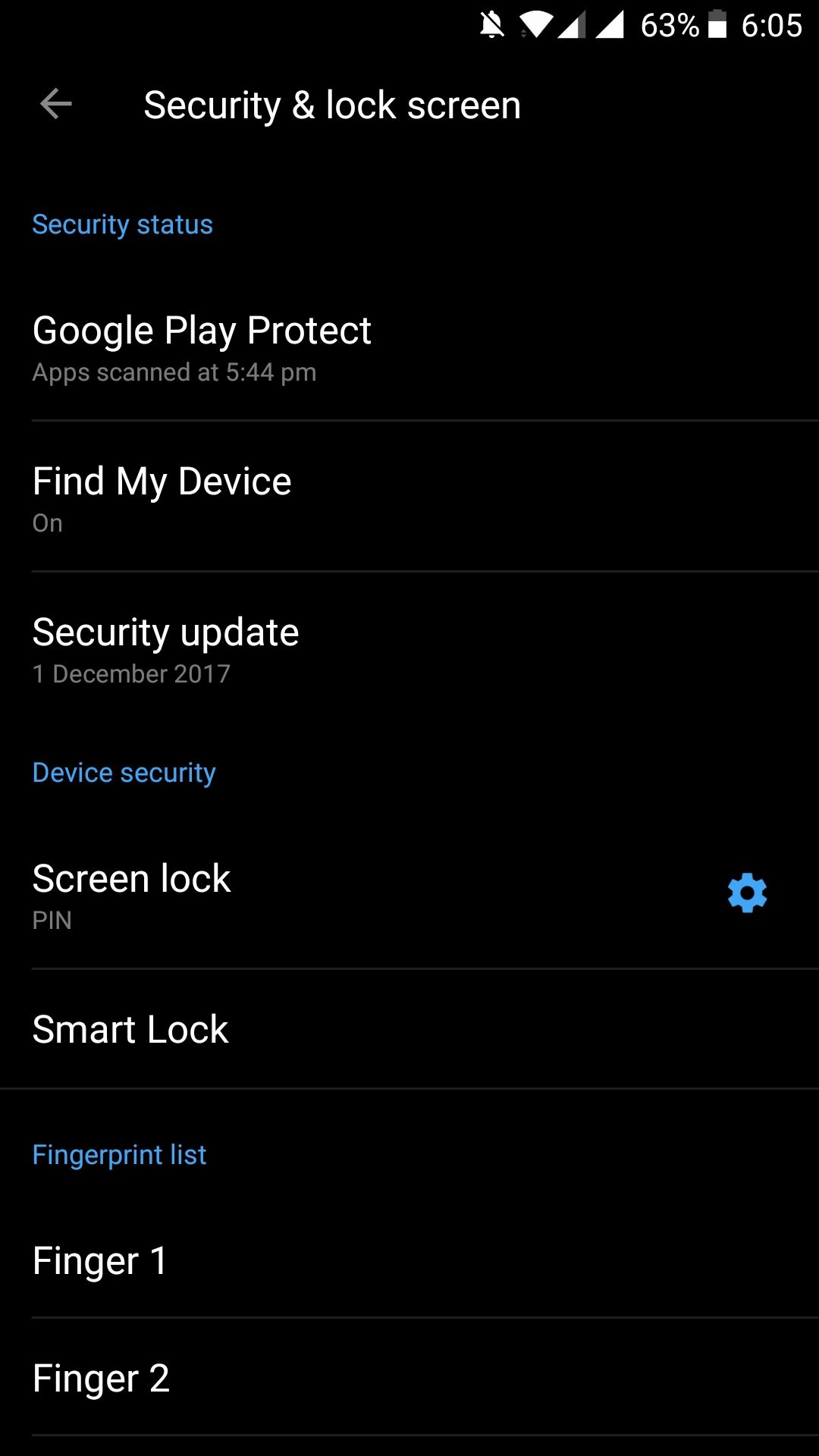 power button doesn't make the screen lock - OnePlus Community