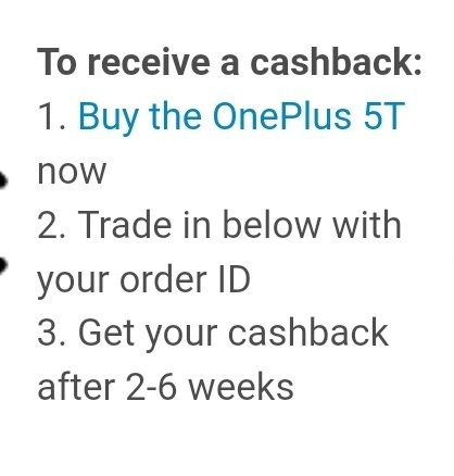 The Official Oneplus trade in program - OnePlus Community
