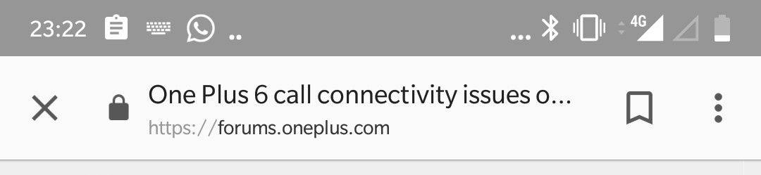 One Plus 6 call connectivity issues on Vodafone network