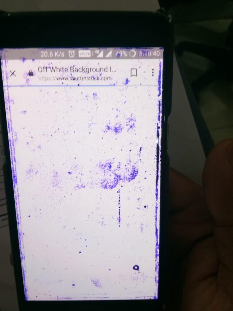 Purple Spots on screen suddenly - OnePlus Community