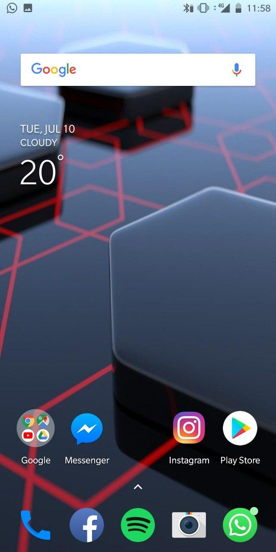 hide navigation bar in home screen - OnePlus Community