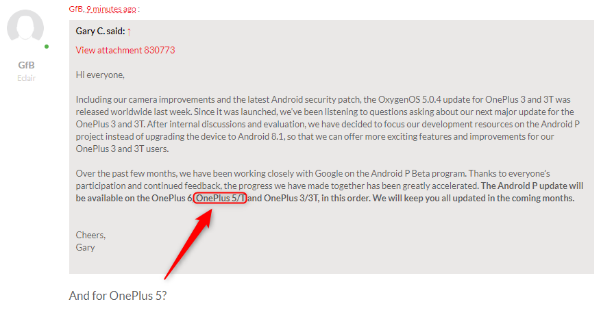 Android P is coming to the OnePlus 3 and 3T | Page 5